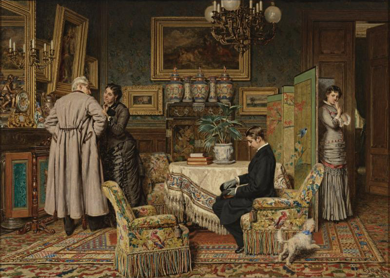 Evert_Jan_Boks_The_Marriage_Proposal_1882